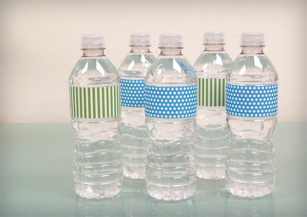 Water Bottle Labels – Free Printable