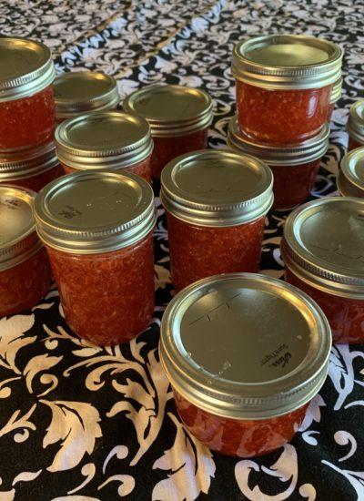 Freezer Strawbery Jam Recipe.