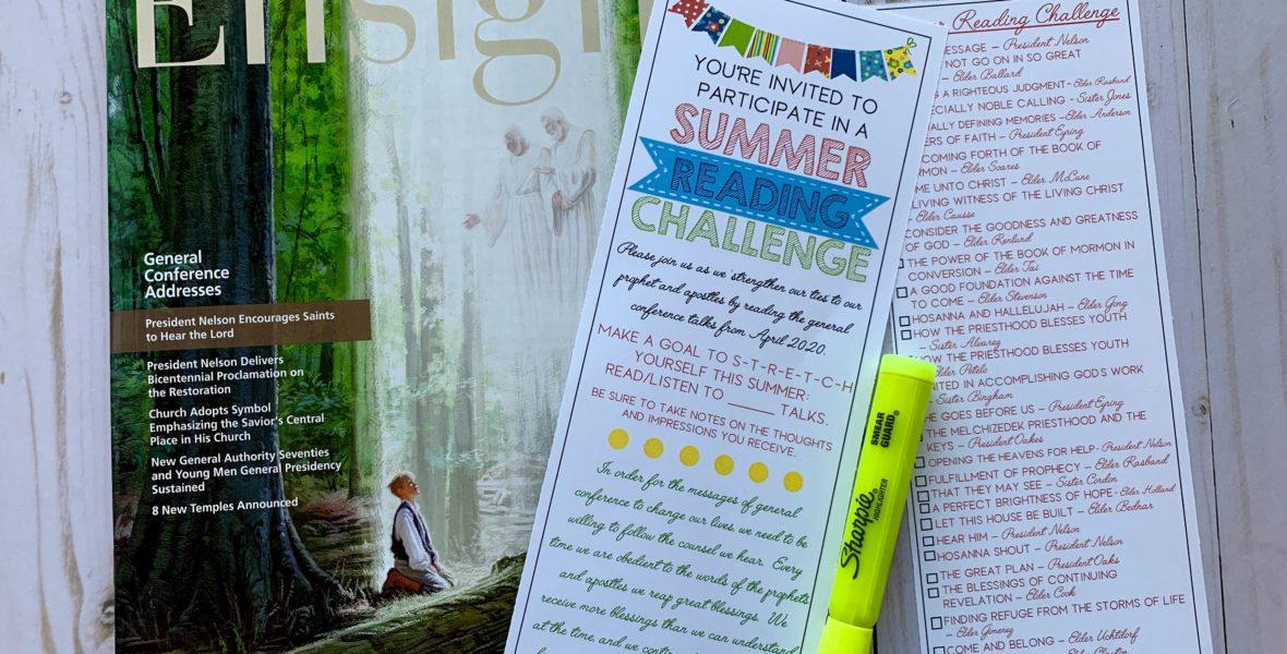 Summer Reading Challenge.