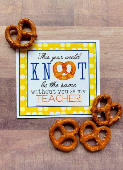 Teacher Appreciation Printables.