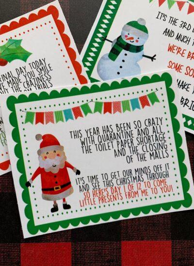 12 Days of Christmas Tags.