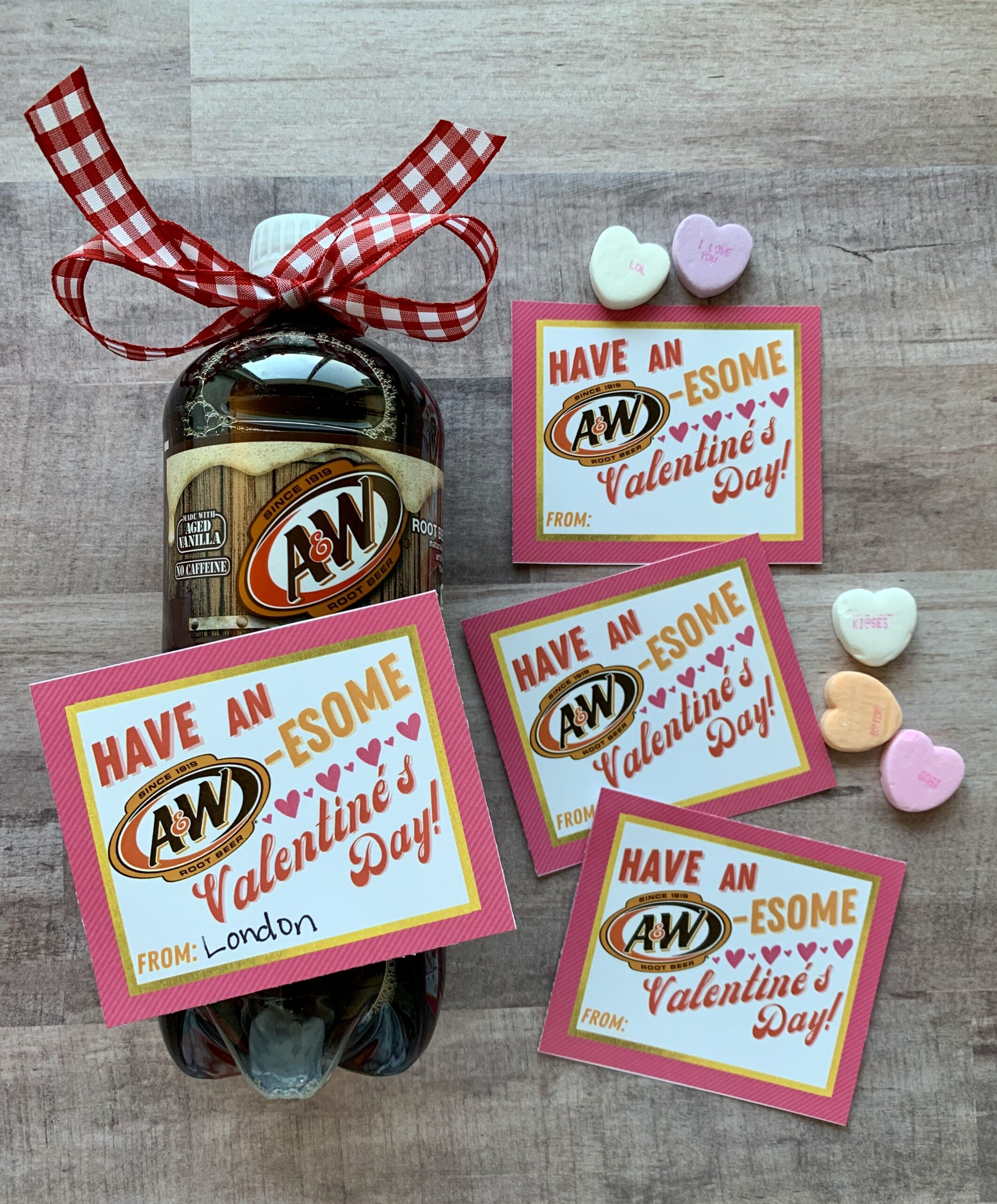 Soda Pop Valentines.